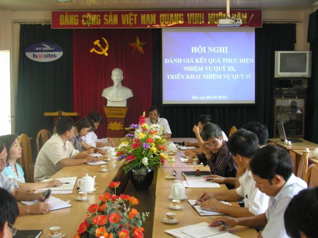 Hội nghị sơ kết quý III v� triển khai nhiệm vụ quý IV/2010